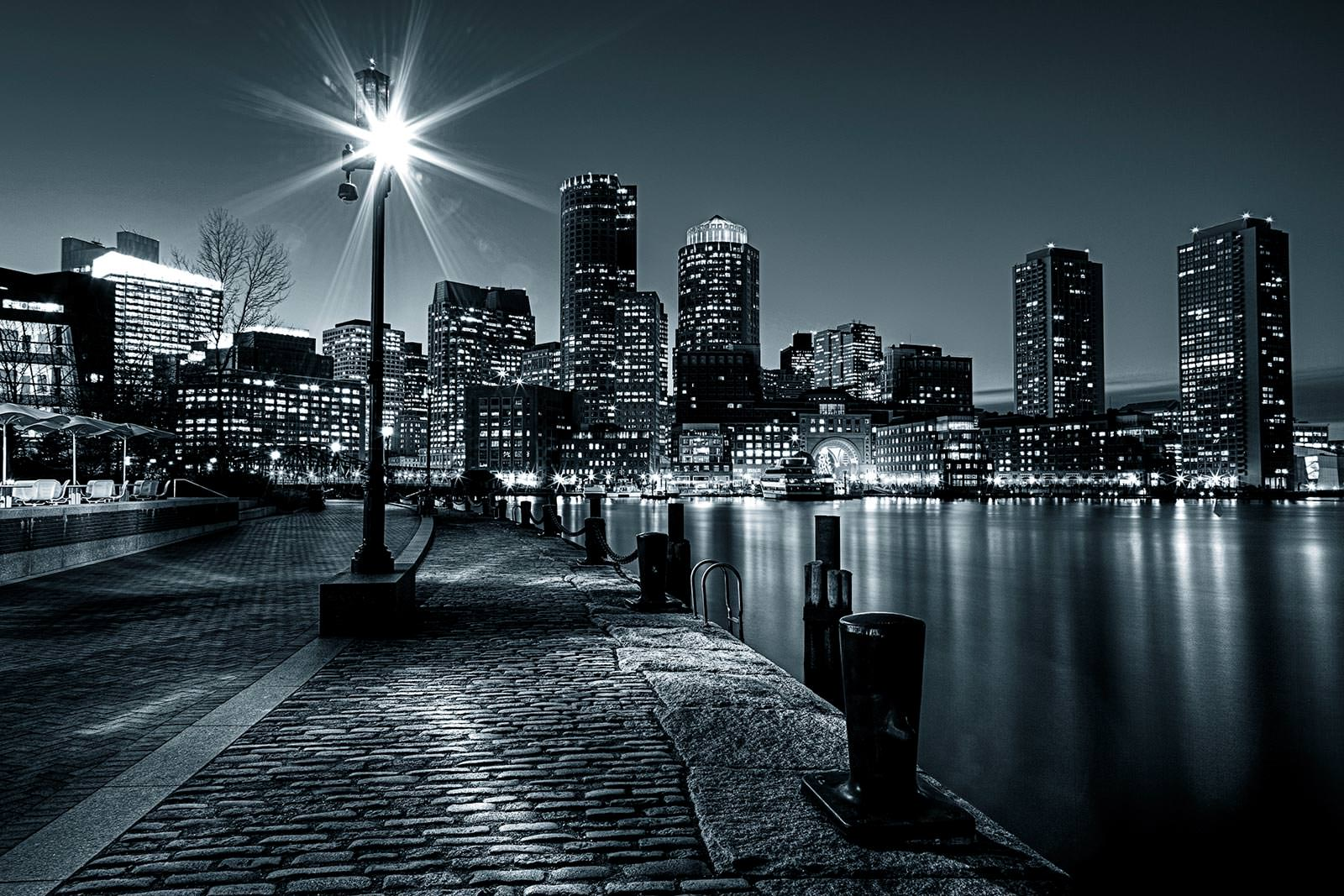 Обои набережная, ночь, австралия, фонари. Города foto 18