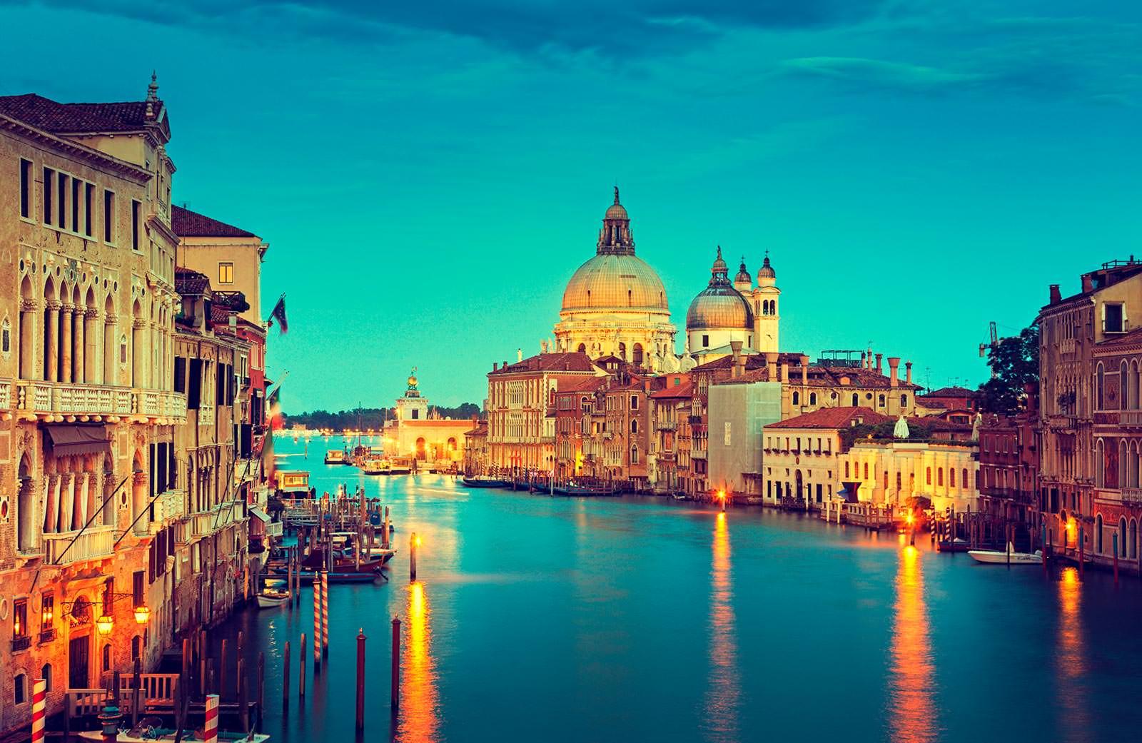 Обои кафе, канал, венеция. Города foto 18