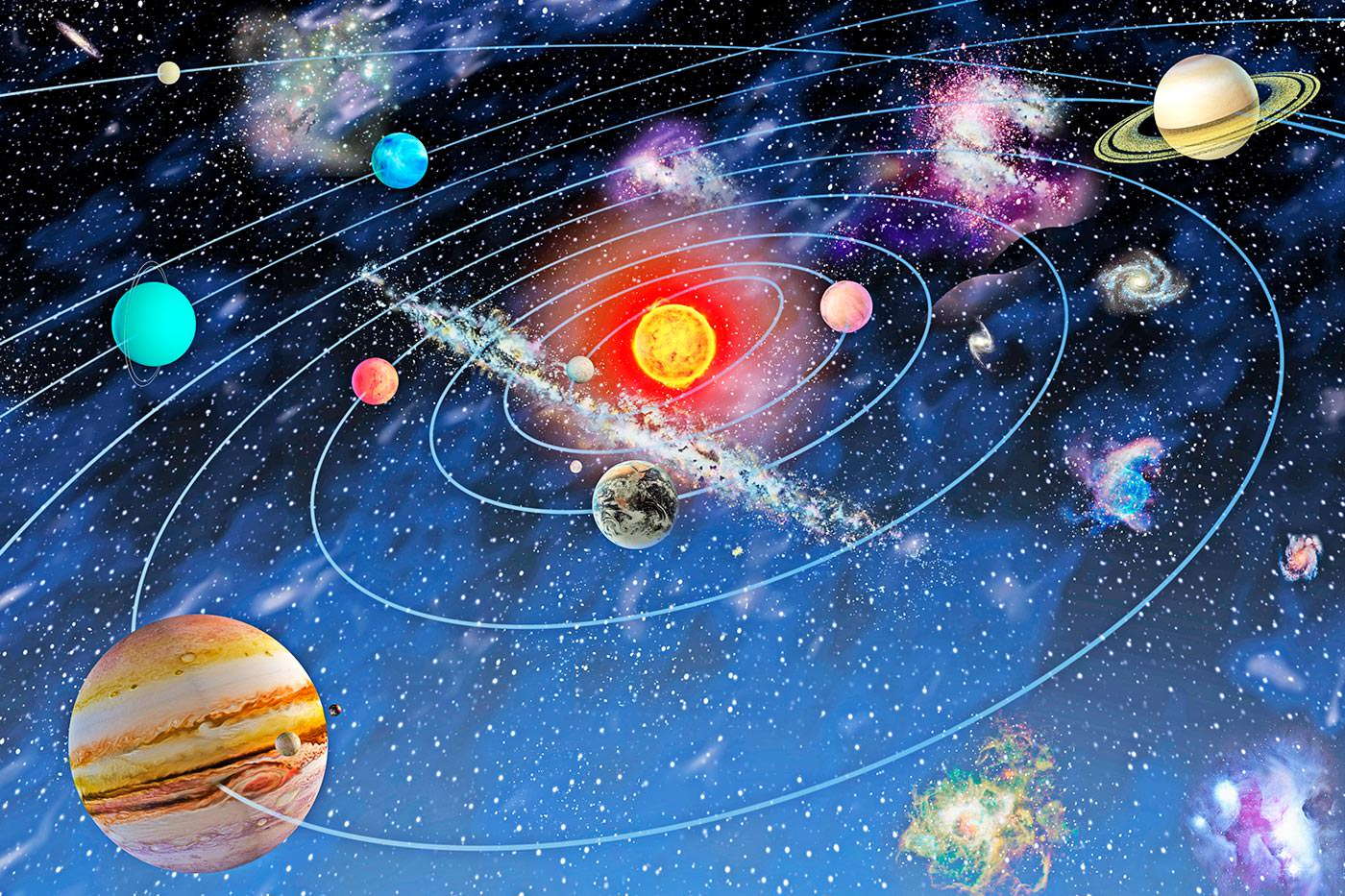 планеты солнечной системы в космосе картинки просмотра следующего изображения