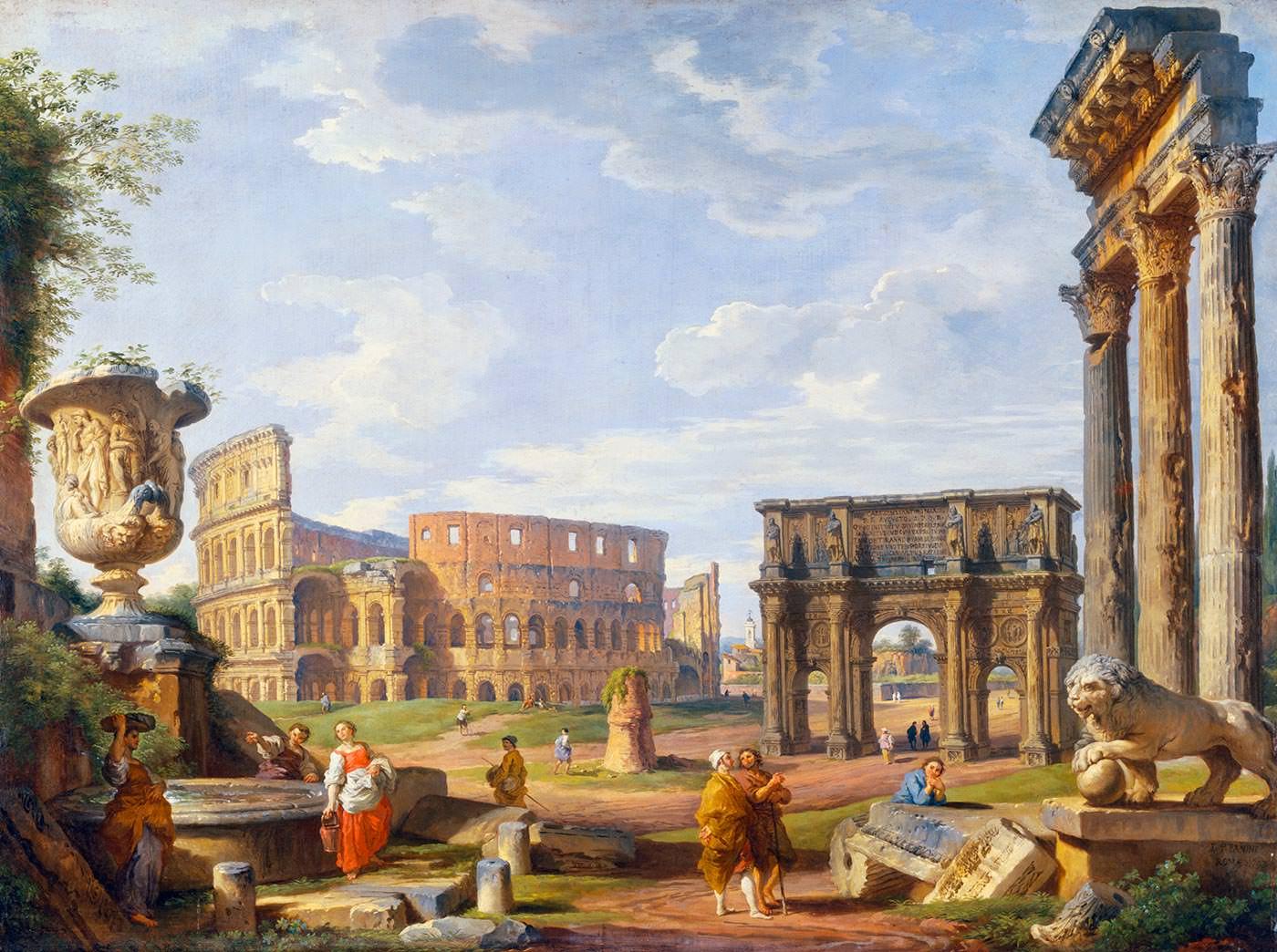 Колизей в картинах художников