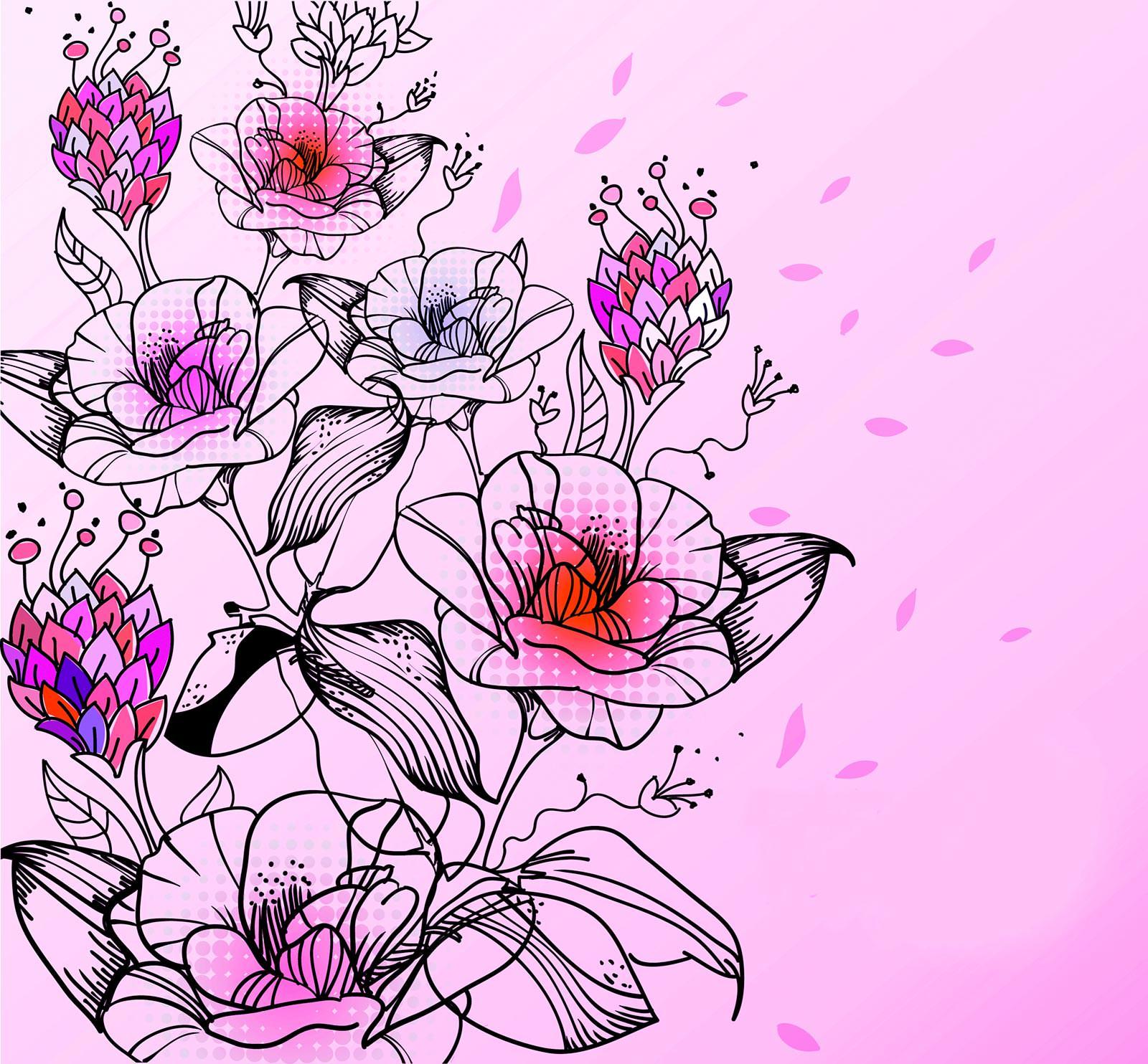 красивые цветы вектор данного фильма