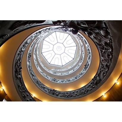 Фотообои Лестница с рельефным узором | арт.10500
