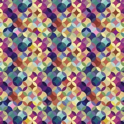 Фотообои Цветной узор | арт.10584