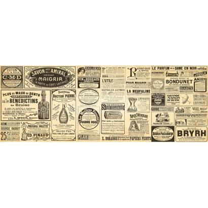 Фотообои Старые газеты | арт.10643