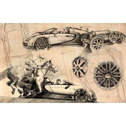 Фотообои Bugatti Veyron | арт.10644