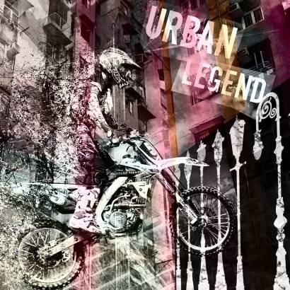 Фотообои Мотоциклист | арт.10648