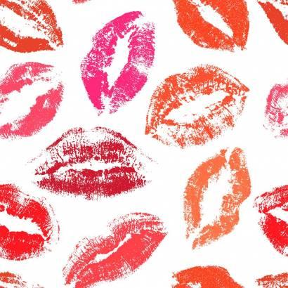 Фотообои Следы от поцелуев | арт.10655