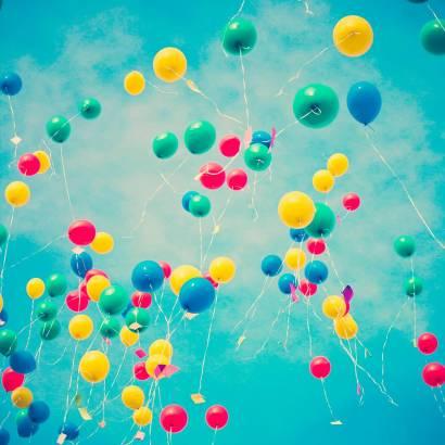 Фотообои Воздушные шары | арт.10664