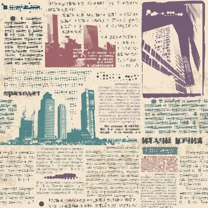 Фотообои Газетный лист | арт.10677