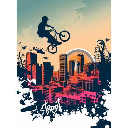 Фотообои Урбанистическое граффити | арт.10678