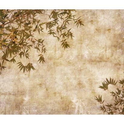 Фотообои Листья на холсте | арт.1088
