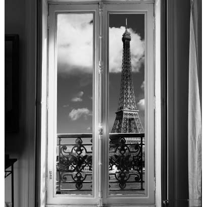 Фотообои Окно В Париж | арт.11100