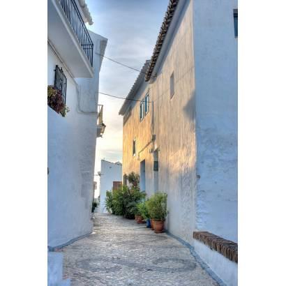 Фотообои Улица из белого камня | арт.11160