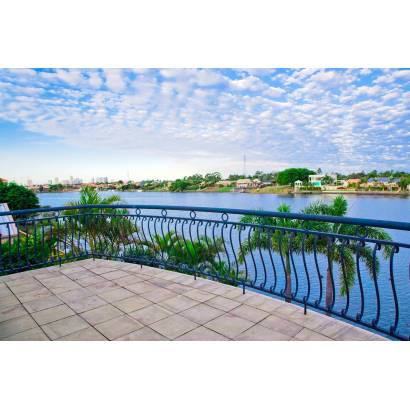 Фотообои Балкон с видом на реку | арт.11168