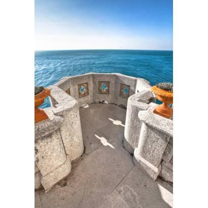 Фотообои Вид с каменного балкона на океан | арт.11170