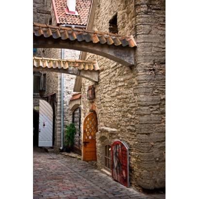 Фотообои Улочка из каменной кладки | арт.11175