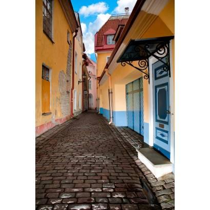 Фотообои Узкая европейская улочка | арт.11176
