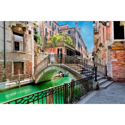 Фотообои Венеция. Мостик через канал | арт.11218
