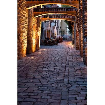 Фотообои Улочка с каменными арками | арт.11221
