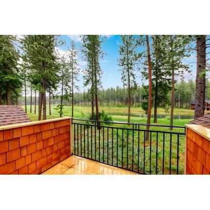 Фотообои Балкон  с видом на лес | арт.11229