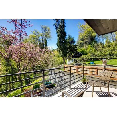 Фотообои Балкон с видом на сад | арт.11230