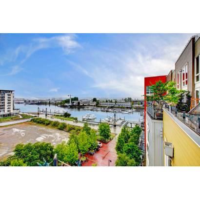 Фотообои Вид с балкона на город | арт.11233