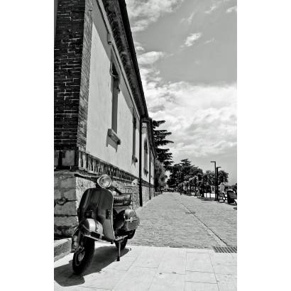 Фотообои Улица. Черно-белая. | арт.11249