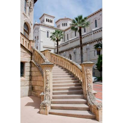 Фотообои Каменная лестница. Монако   арт.11271