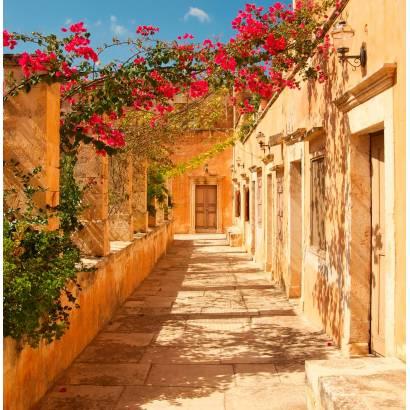 Фотообои Терраса, увитая цветами | арт.11278