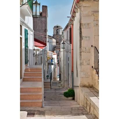 Фотообои Улочка с лестницами | арт.11314
