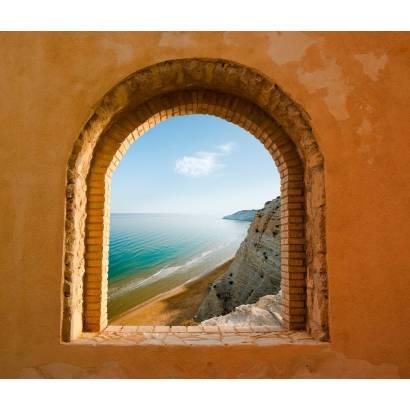 Фотообои Окно На Море | арт.1132
