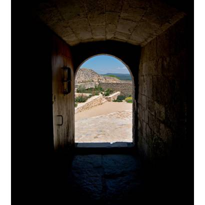 Фотообои Дверь в форме арки   арт.11322