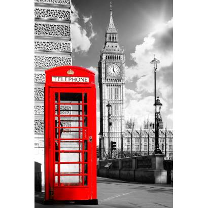 Фотообои Телефонная кабина.Лондон. | арт.11361