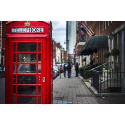 Фотообои Телефонная будка. Лондон | арт.11365