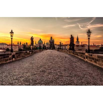 Фотообои Прага.Вида с моста | арт.11368
