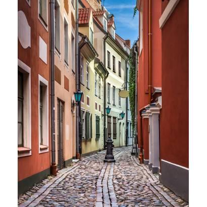 Фотообои Европейская улочка | арт.11371