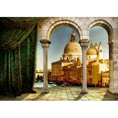 Фотообои Вид с террасы на собор | арт.11372