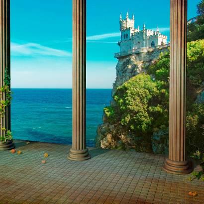 Фотообои Вид с террасы на замок | арт.11379