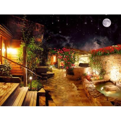 Фотообои Ночной дворик | арт.11398