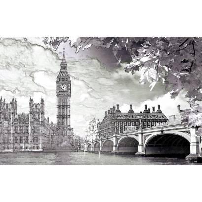 Фотообои Графичный Лондон | арт.11404