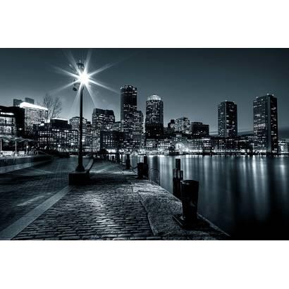 Фотообои Набережная Бостона | арт.11406
