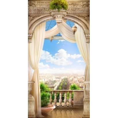 Фотообои Балкон с видом на город | арт.11409