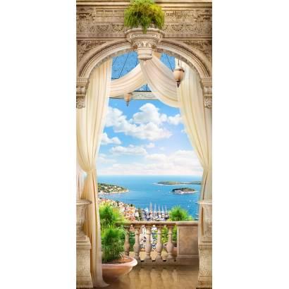 Фотообои Вид с балкона на море | арт.11411