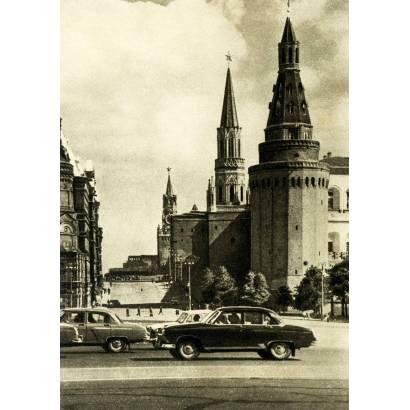 Фотообои Винтажное фото Москвы | арт.11419
