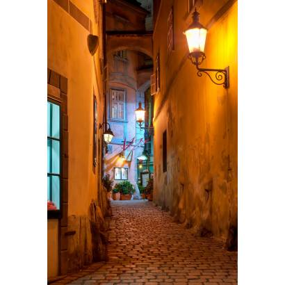 Фотообои Ночная Улица | арт.1196