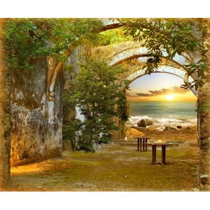 Фотообои Арка на берегу моря | арт.11438
