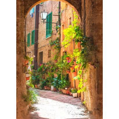 Фотообои Арка в старинном городке | арт.11441