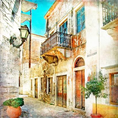Фотообои Улочка — Прованс | арт.11457