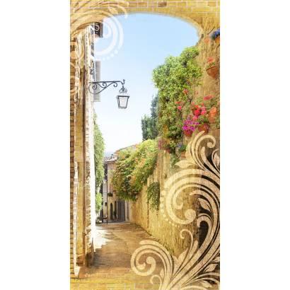Фотообои Улочка с аркой | арт.11459