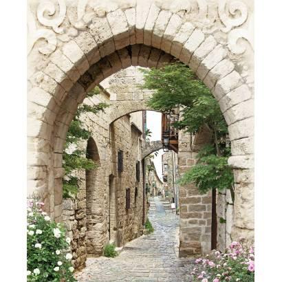 Фотообои Улица с аркой | арт.11467
